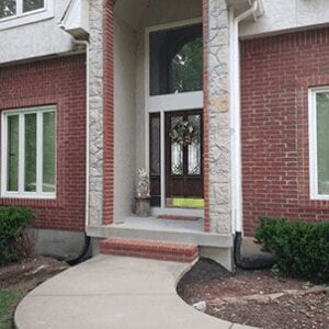 Repair Concrete Entryway For Homes
